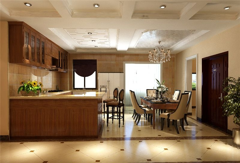 四居室欧式风格厨房