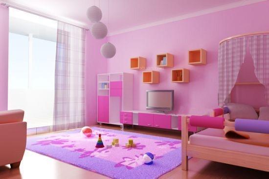 三居室时尚风格卧室