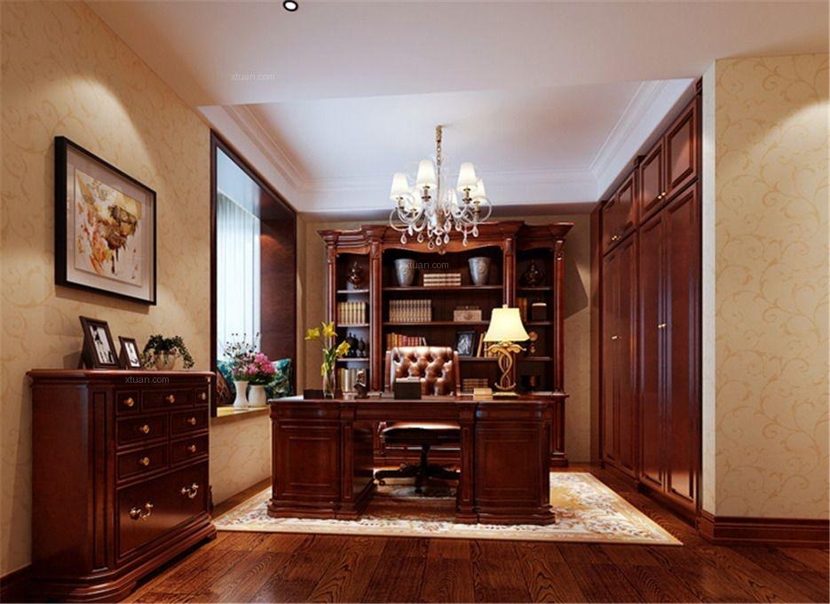 三居室古典风格书房