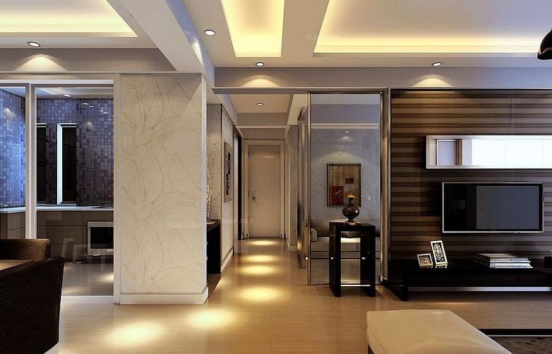 四居室现代风格玄关