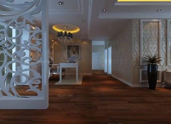 昆明呈贡书香大地200平米现代欧式风格20万元