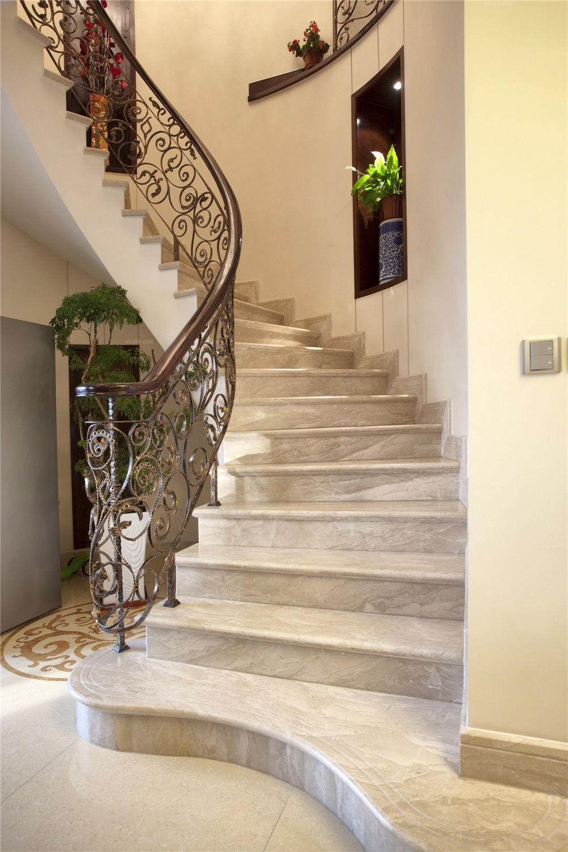 别墅户型装修设计欧式新古典风格实景展示!