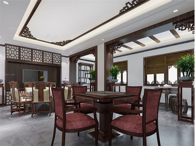 北京中式茶楼装修品茗留香