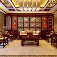 昆华苑 155平米  中式风格