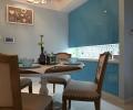 联泰香域中央3室平米地中海风格装修案例