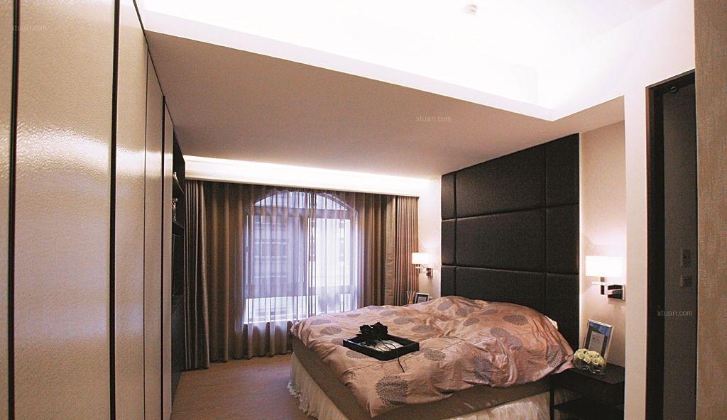 三室两厅现代风格卧室