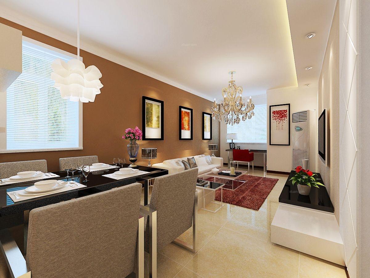 绿地国际花都85平小居室大空间的装修梦