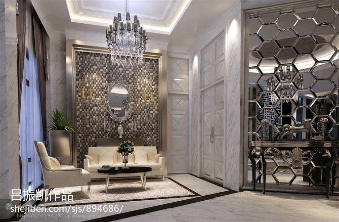 古典风格售楼部