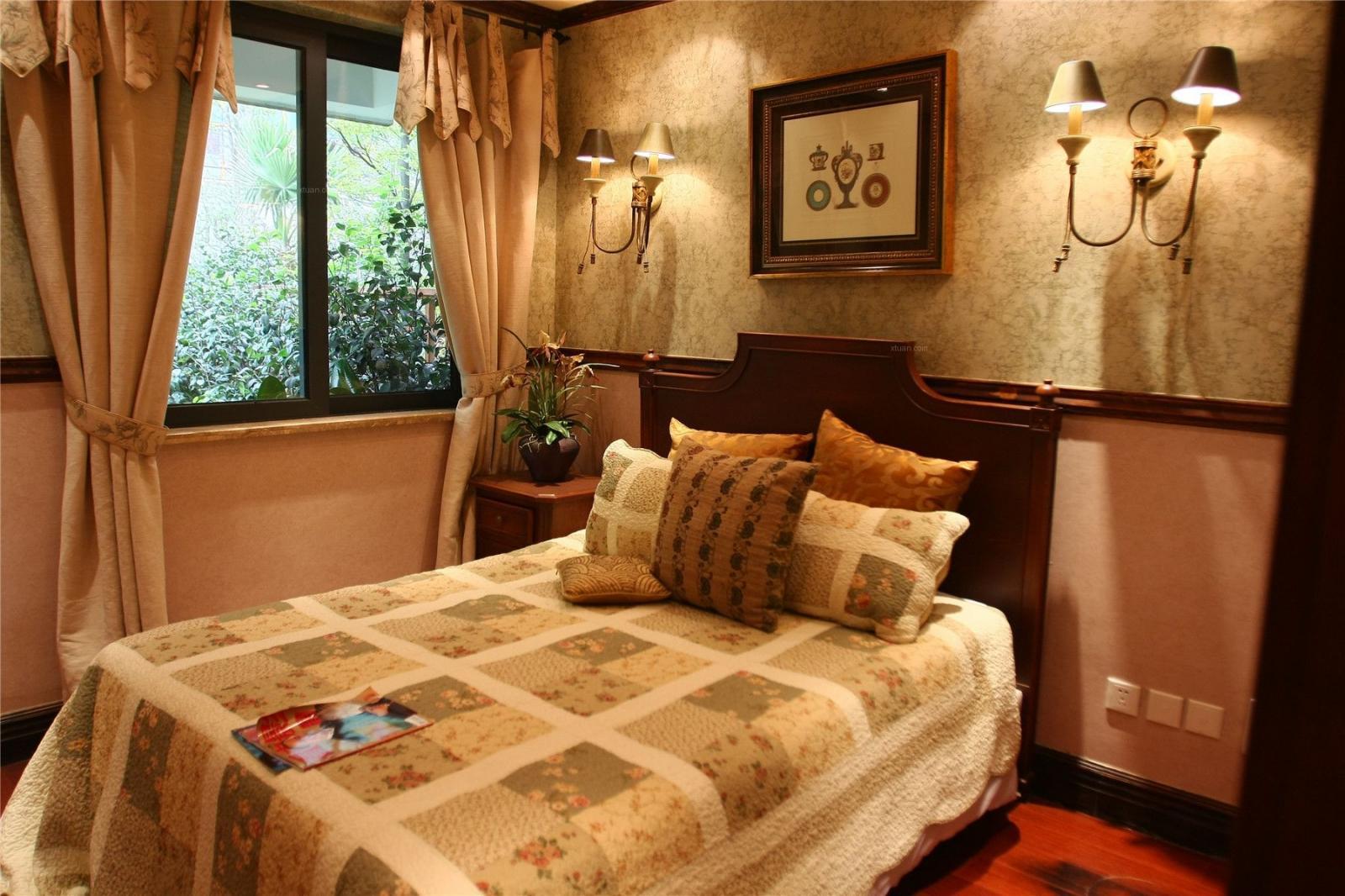 三室两厅地中海风格卧室