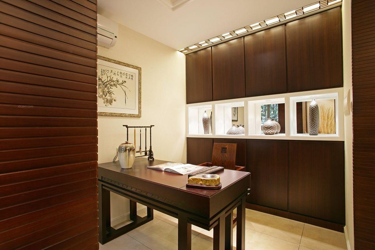 四居室中式风格书房