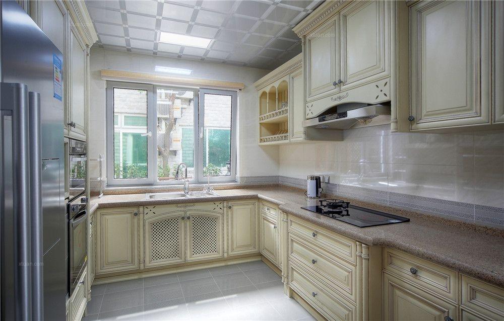 别墅欧式风格厨房 优雅威尼斯装修效果图