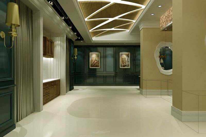 阿森设计-杜氏木业欧洲展厅初步方案