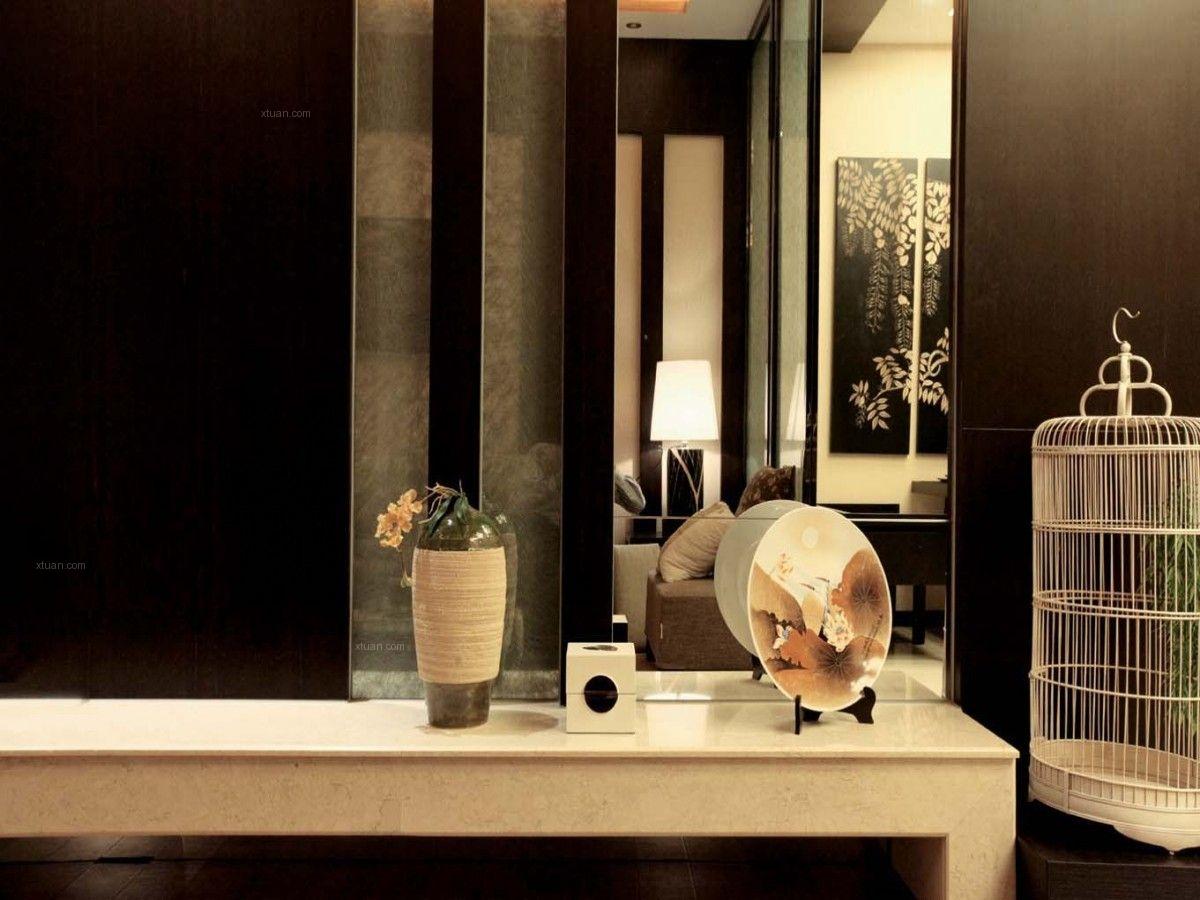 三居室日式风格卫生间 日式小清新装修效果图