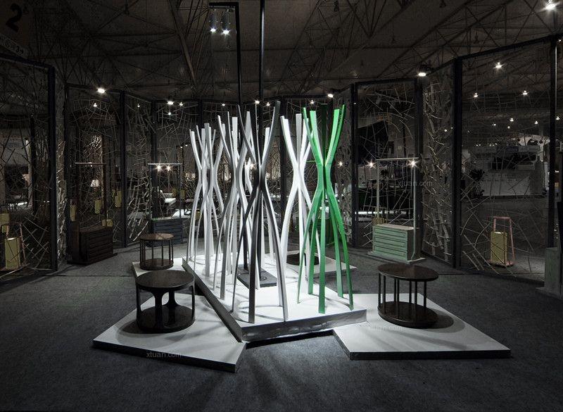 阿森设计-木之灵粹 - 成都创意设计产业展览会装修效果图图片