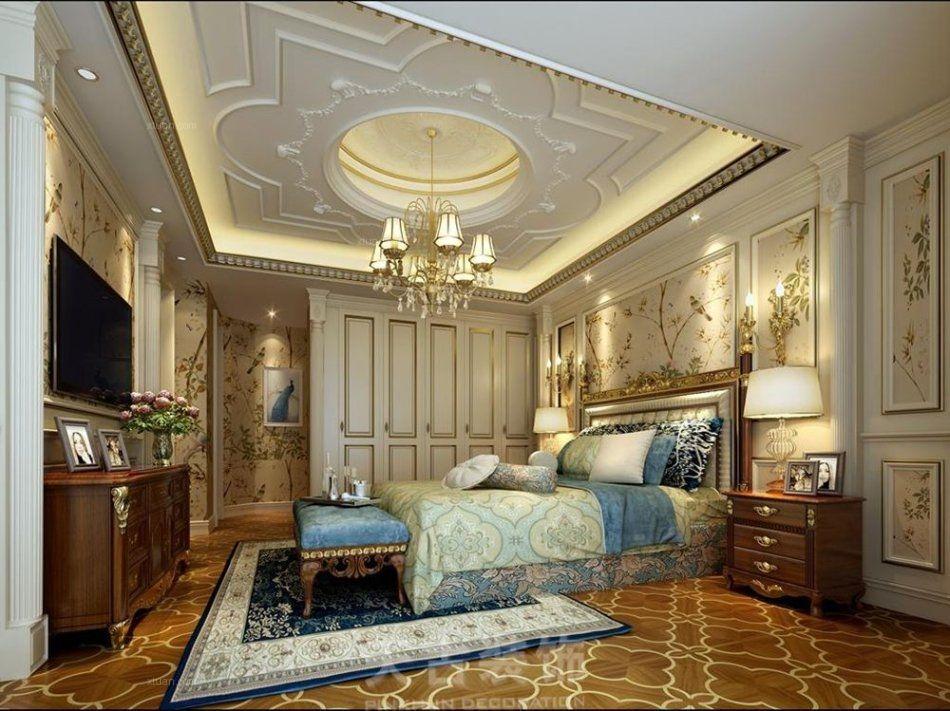 逸翠庄园别墅法式风格装修设计效果图图片