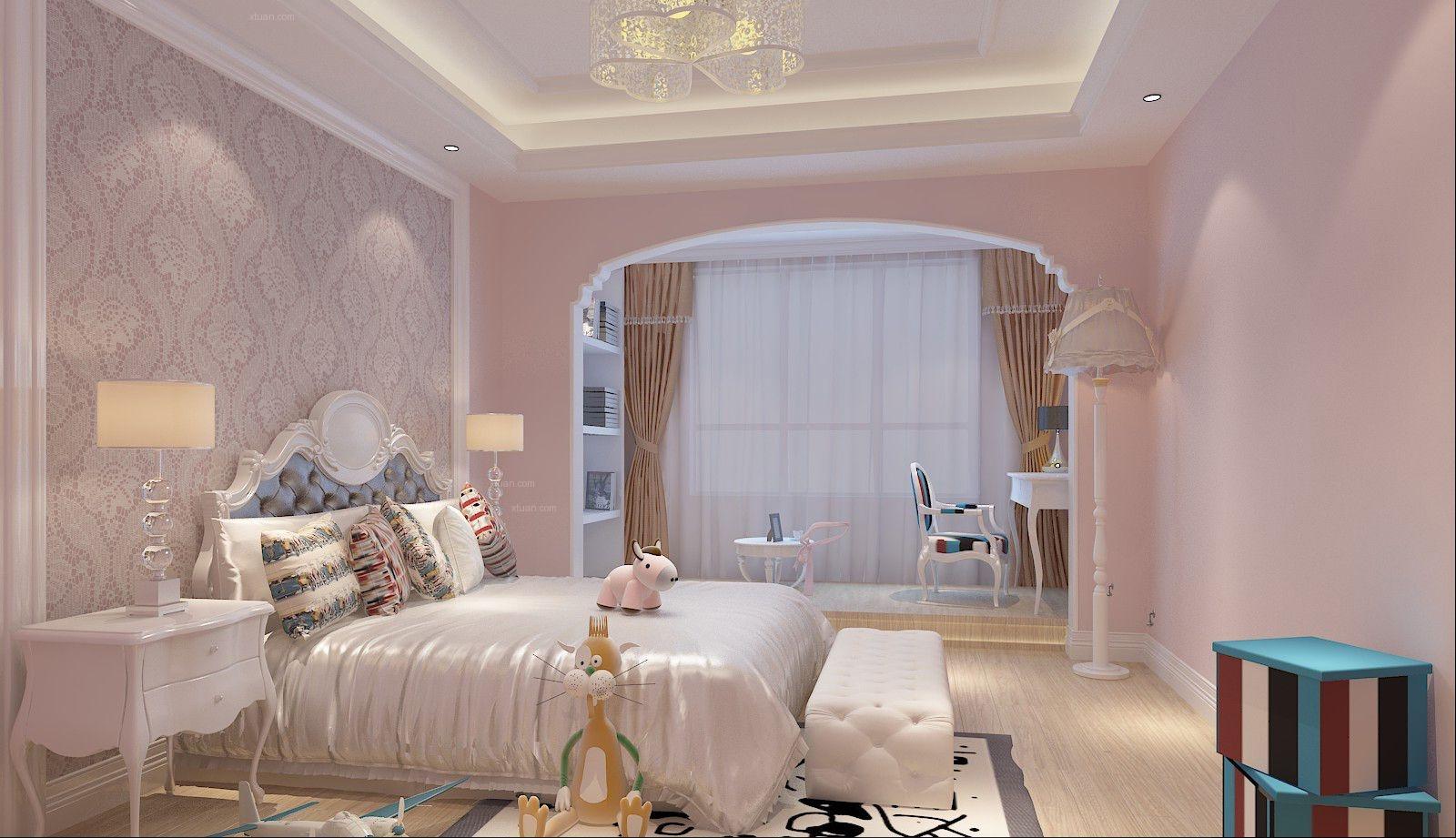 四居室中式风格小卧室