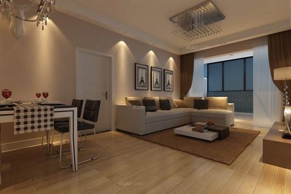 五华区经典明苑73平米现代简约风格