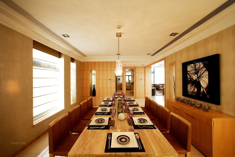鹭湖宫七区现代港式风格装修案例