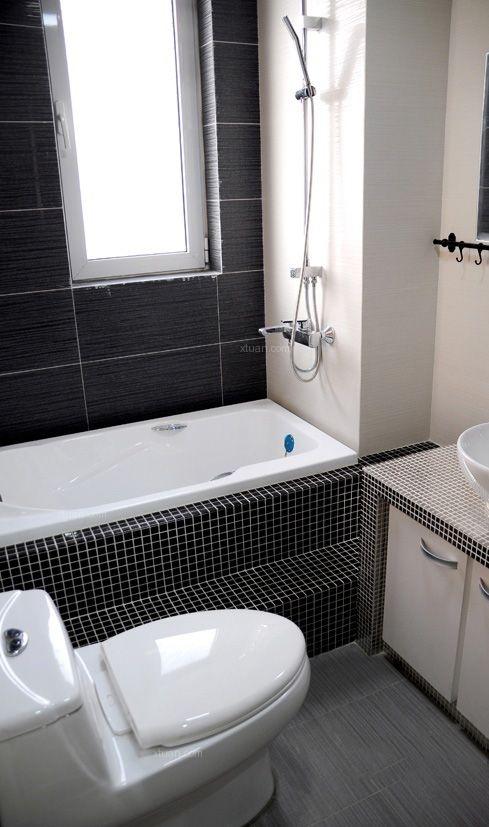 三居室现代风格卫生间