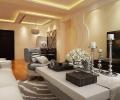 中豪汇景湾90平两居室装修设计图