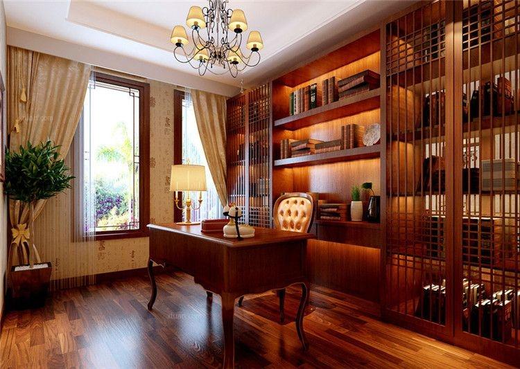 别墅中式装修设计显柔和古典美