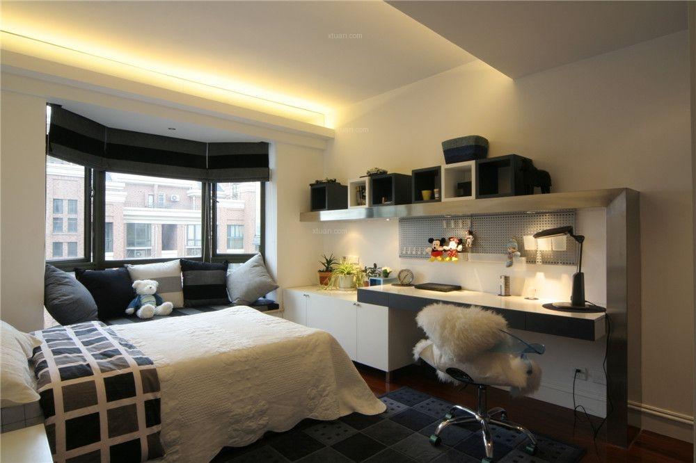 海逸公寓复式户型装修设计实景展示!
