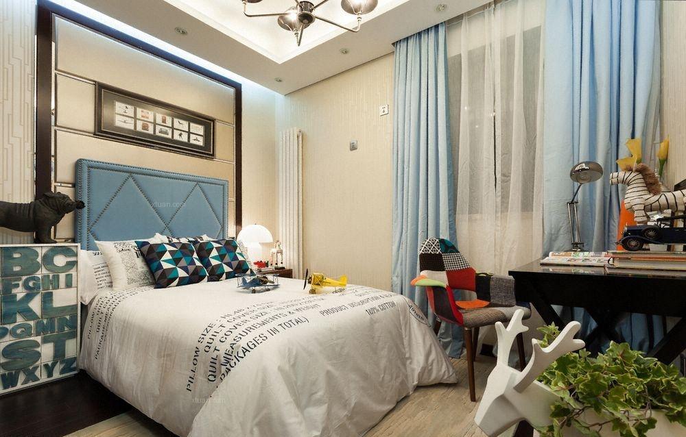 两室两厅混搭风格卧室