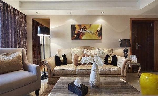 两室两厅新古典客厅