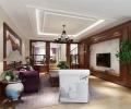 新中式风格联排别墅装修效果图