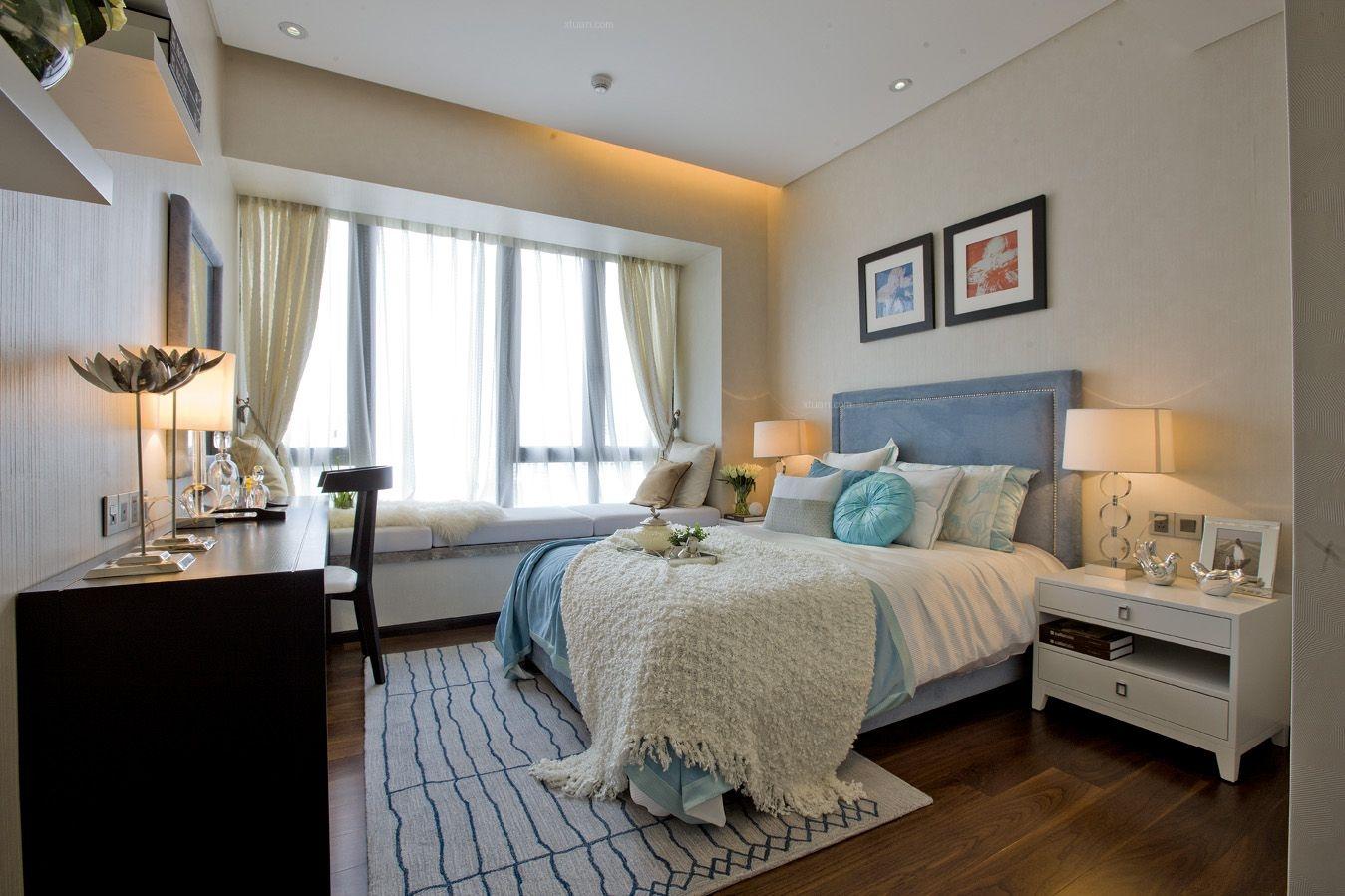 四居室现代简约卧室