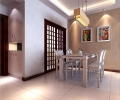 金坤世纪89平米两室两厅现代简约风格装修