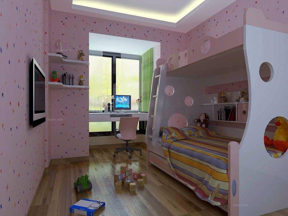 三室一厅欧式风格小卧室