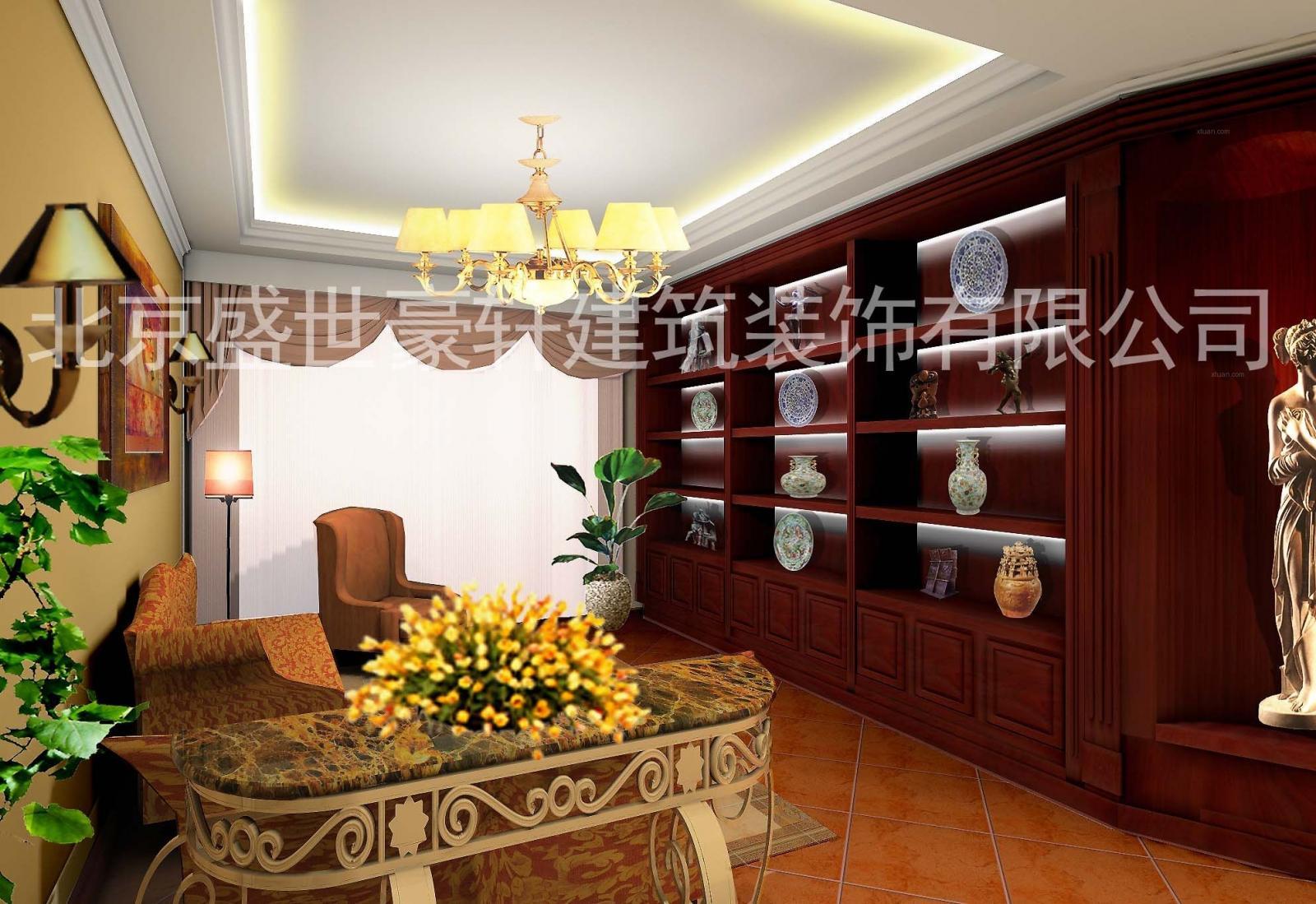 独栋别墅古典风格客厅