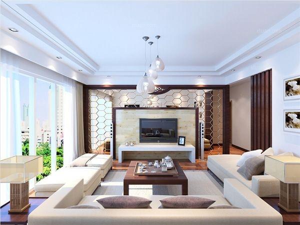 鑫都韵城124平米现代风格