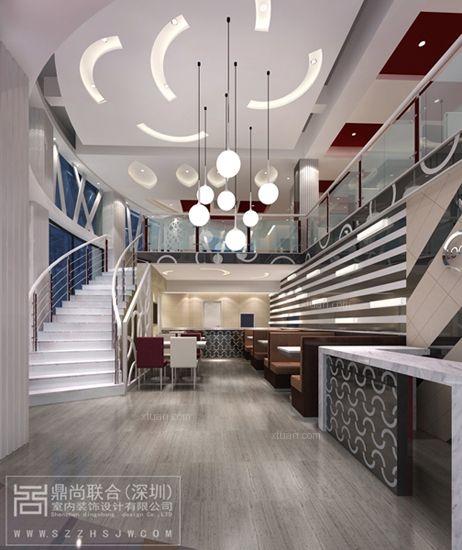 茶餐厅设计-深圳港式茶餐厅装修效果图