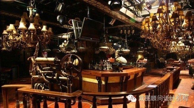 威海威图设计承接布鲁斯金属风格酒吧设计提案