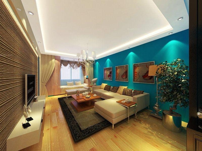 龙湖花千树99平米温馨又上档次的现代家居设计