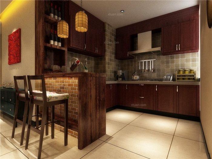 中式风格时尚别墅装修设计