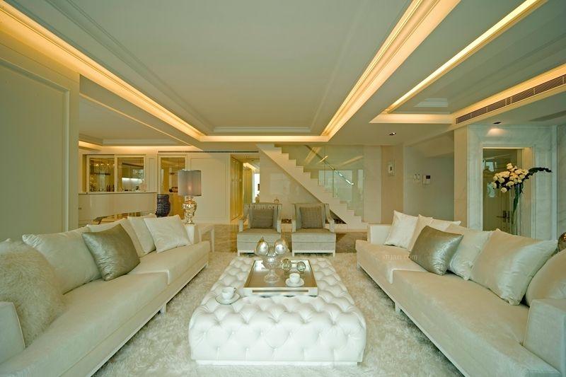 联排别墅古典风格客厅