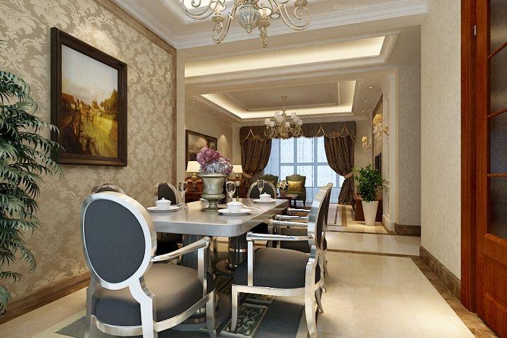 四居室简欧风格餐厅