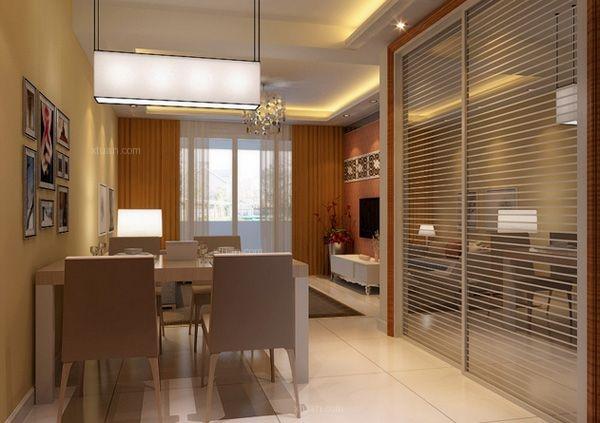 两室一厅现代简约餐厅