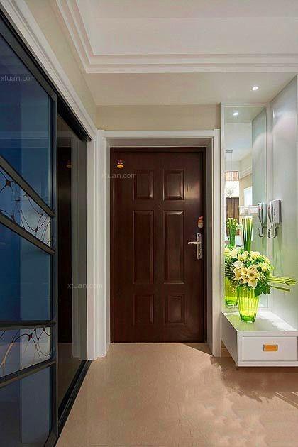 两居室混搭风格玄关