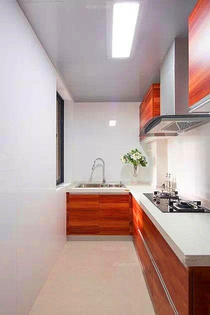 两居室混搭风格厨房