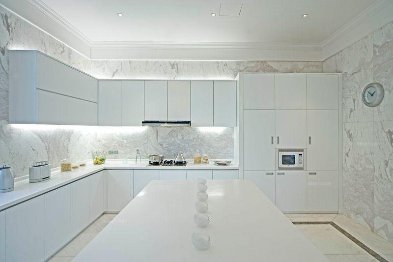 大户型古典风格厨房