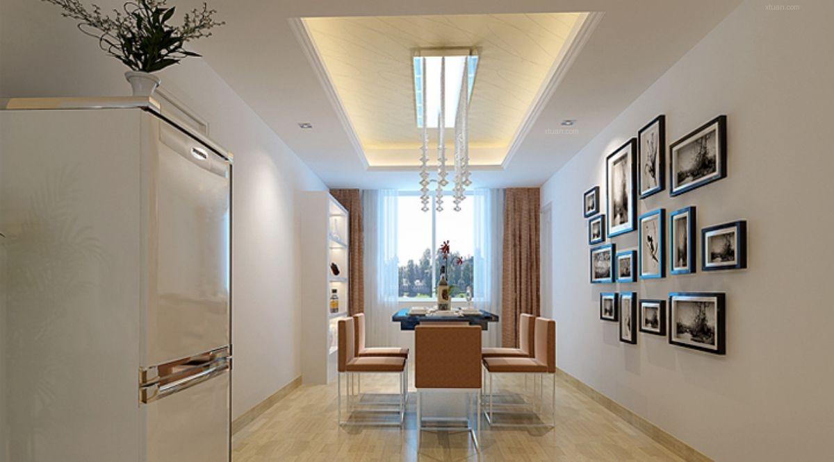 济南实创8万为您打造现代简约三居室