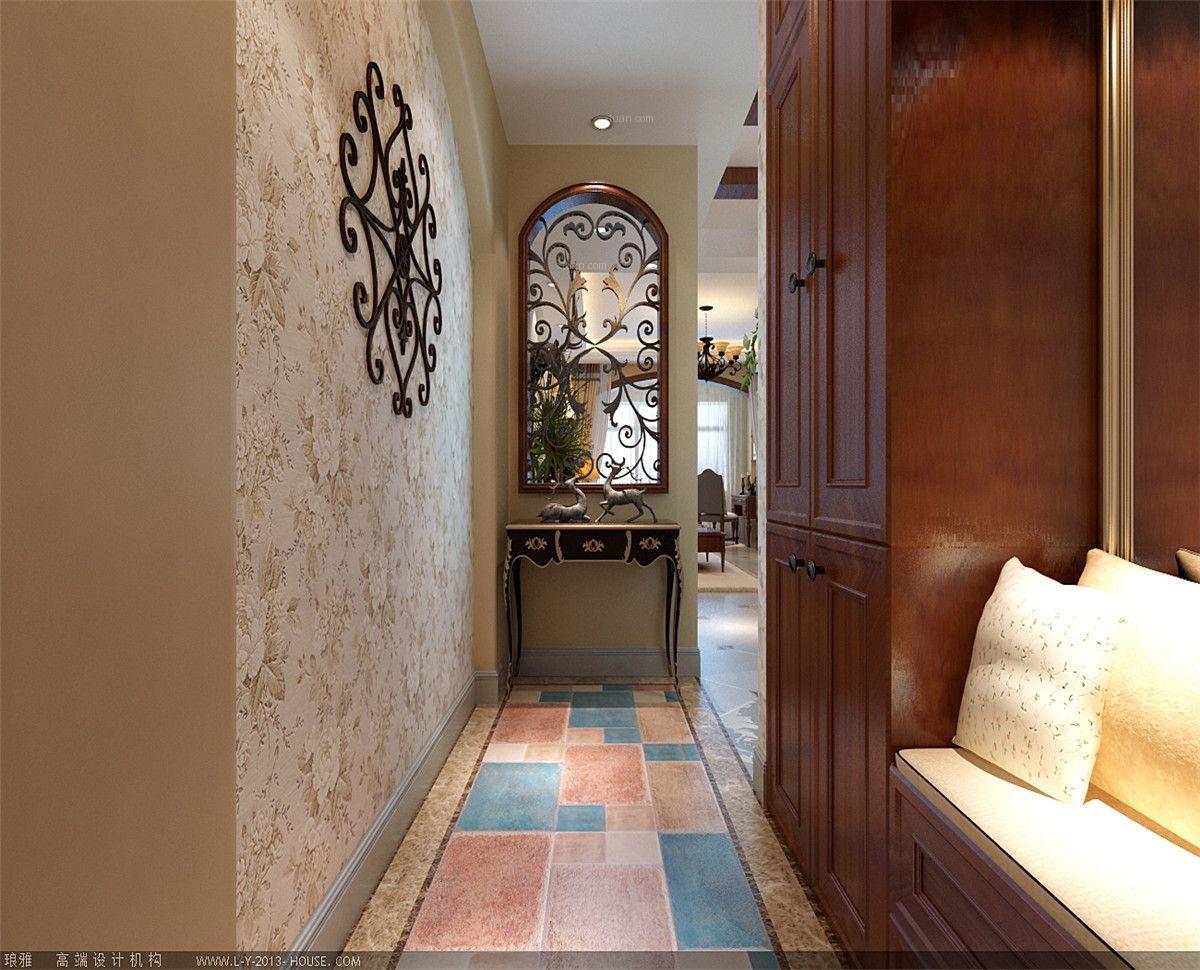 两居室美式风格玄关