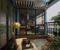 辰能溪树庭院150平米   港式风格