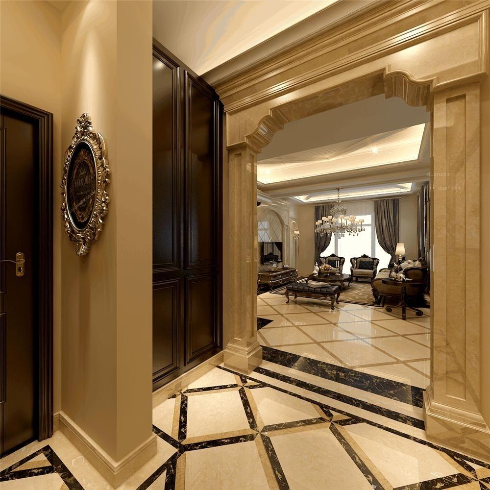 两室两厅欧式风格过道