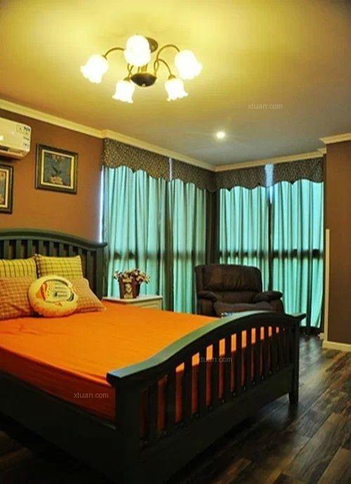 两室两厅美式风格卧室