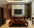 济南实创装饰-路劲御景城-中式风格三居室